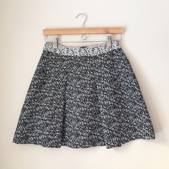 d1c8084840 Banana Republic Skirts | Marled Tweed Pleated Skirt | Poshmark